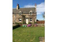 Unfurnished lovely 2 bedroom cottage in East Fortune, only 5 miles from North Berwick