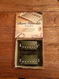 Calibrated set Bare Knuckle Nailbomb humbuckers (ceramic)