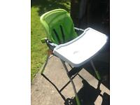 Chicco Baby Highchair with table included