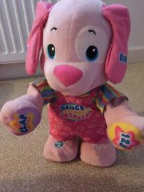 Fisher price dance and wiggle bear