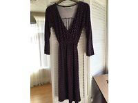 Jo Jo Maman Bebe dress size small (8-10)