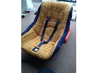 Cosatto car seat 0mth rear and front facing
