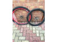 bicycle front wheels disc brakes