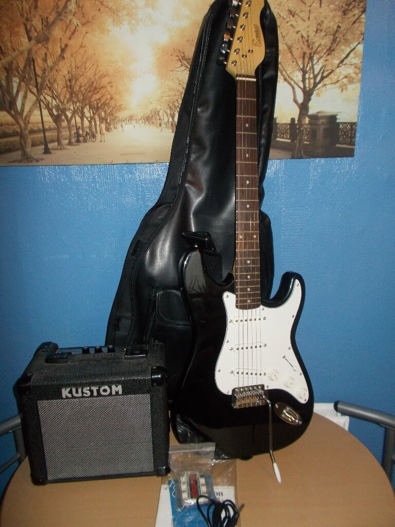Encore Electric Guitar Starter set [like new]