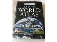 Large World Atlas book