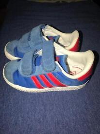 Adidas Gazelle kids' trainers size 7