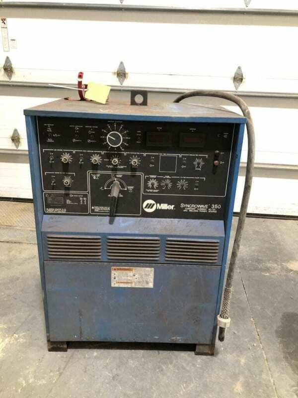 Miller Syncrowave 350 Constant Current AC/DC TIG Welding Power Source 16.9kW 1PH
