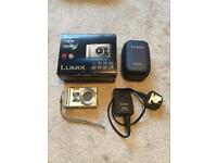 Panasonic LUMIX TZ8 digital camera in box