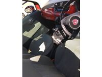 RED FIAT 500 TWINAIR 0.9 (START/STOP) FOR SALE