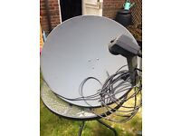 Technomate motorised satellite dish