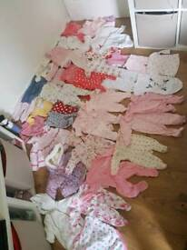 Huge 120 items++ baby girls clothing bundle of clothes