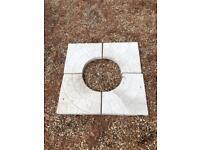Paving slabs - cobble circle