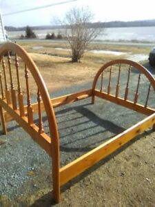 REDUCED- Beautiful Pine Bed Frame