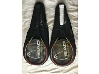 Head Radical Tennis rackets