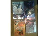 4 Rick Riordan Books-popular titles Paperbacks