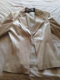Ladies gold jacket