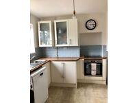 Kitchen for Sale - Symphony & B&Q units, Beko induction hob and oven, Hotpoint fridge freezer
