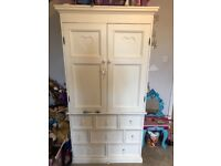 Aspace Belvoir armoire and bed with Mattress. Great condition