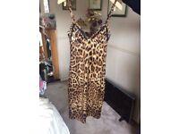 Dolce & Gabbana leopard print dress size 10