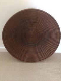 Large wooden dish/basket from Boconcept