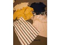 Small bundle ladies clothes size 12