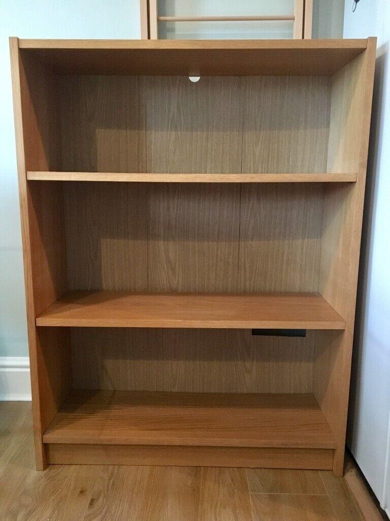 Ikea Billy Bookcase Oak Veneer Tv Stand Book Shelf Great Condition In Stratford London Gumtree