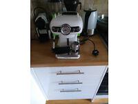 Free Espresso / Cappuccino machine.