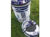 2 R2D2 Star Wars POP Up Storage Bins