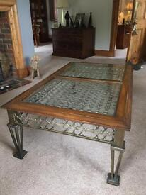 Cast iron Coffee / occasional table.