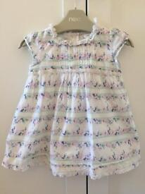 Next dress and knickers 3-6 months