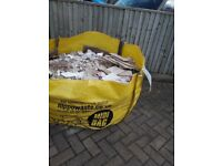 Free Rubble - for base of shed or similar, all broken bathroom tiles