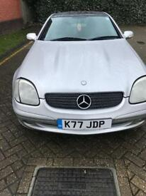 Mercedes Slk 200 6 speed manual