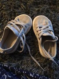 Size 5 little boys Adidas shoes