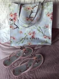 Ted Baker Bag & Flip-Flops