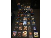 **Joblot** of 114 Blueray DVDs and boxsets All Brand new and sealed