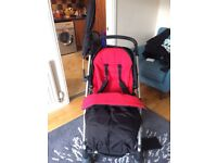 Mamas and Papas travel system with Isofix Maxi Cosi car seat and base £150