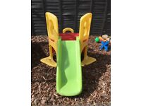 Little tikes frame with slide forsale £45