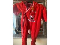 Baby Man Utd snowsuit