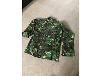 2 Lightweight combat jackets camouflage