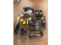RYOBI 18.0 volt power tools NOW SOLD