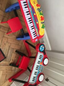 Toy keyboards