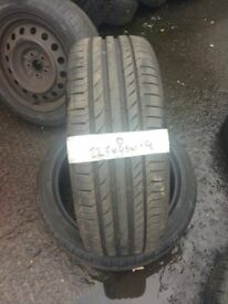225/45/19 qualty part worn for quashqai, mazda etc