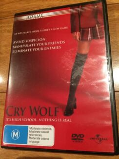 Cry Wolf DVD Mount Hutton Lake Macquarie Area Preview