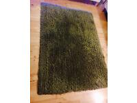 Green Shaggy Rug from NEXT