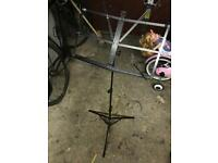 Music stand with carry case. Bramhall area