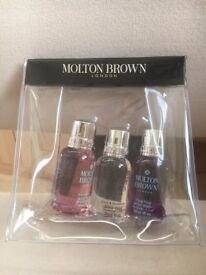 Molton Brown Body Wash Gift Set – 3 x 30ml (New & Sealed)