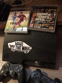 PlayStation 3 / two games two controllers