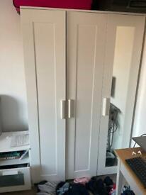 IKEA brimnes wardrobe triple