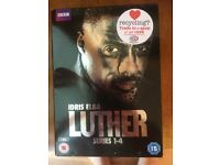 Luther series 1-4 DVD