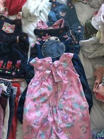 127 baby girl 6-9 months designer clothes bundle